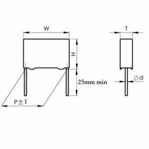 CBB22-Box 金属化聚丙烯膜塑壳电容器(壳式)