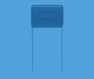 Axial capacitor