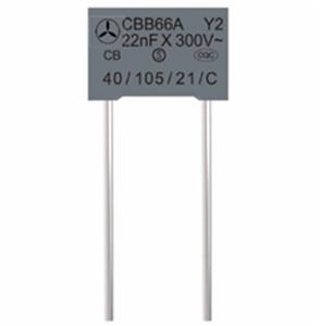 金属化聚丙烯膜抑制电源电磁干扰电容器(Y2类)