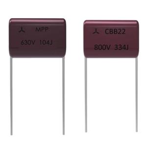 高质量CBB22_21(MPP)金属化聚丙烯膜电容器
