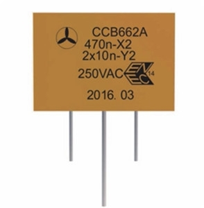 CBB662A抑制电磁干扰组合电容器(X2Y2)