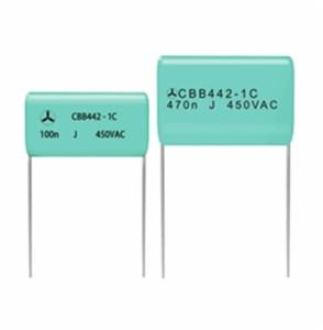 高端CBB442金属化聚丙烯薄膜交流电容器