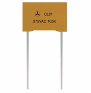 高端CL21B金属化聚酯薄膜塑壳电容器